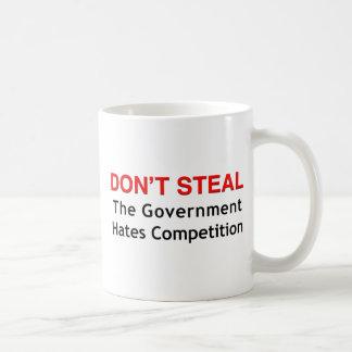 Don't Steal Basic White Mug