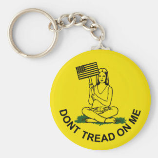 Dont Stomp On My Head Keychains