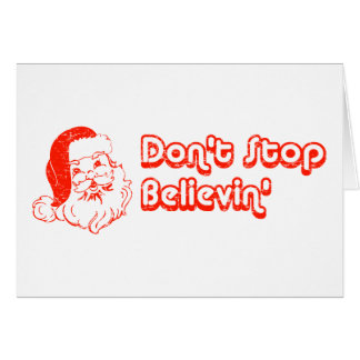 Don't Stop Believin' Card