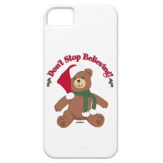 Don't Stop Believing! Christmas Bear Case For The iPhone 5