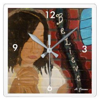Don't Stop Believing! Clock