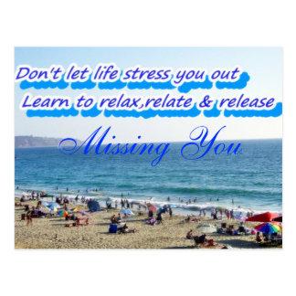 Don't Stress,Relax_ Postcard