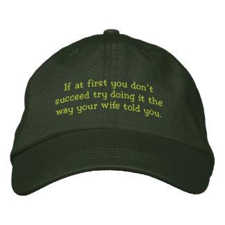 Don't Succeed - Funny hat Baseball Cap
