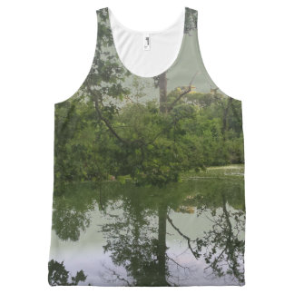 Don't Sweat in this Sweet Unisex Tank Top All-Over Print Tank Top