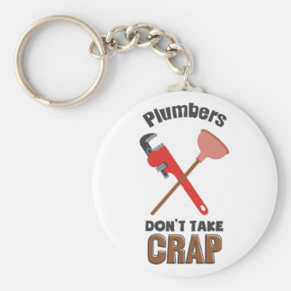 Dont Take Crap Key Ring