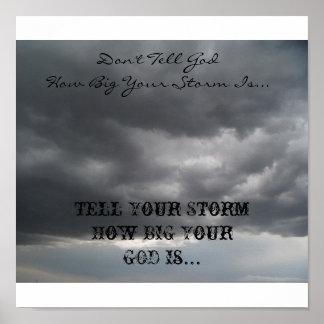 Don't Tell God... Poster