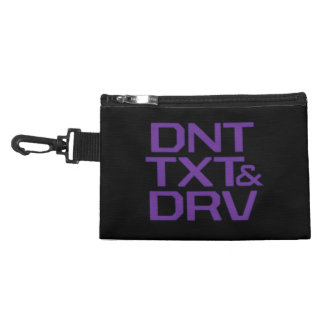 Don't Text and Drive Accessory Bags
