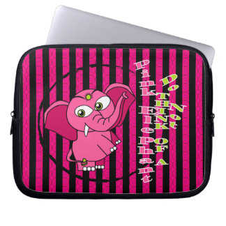 Don't think of a pink elephant computer sleeves