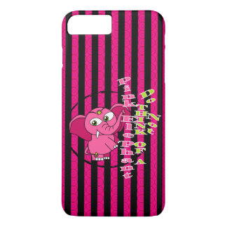 Don't think of a pink elephant iPhone 7 plus case