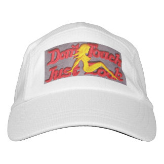 DON'T TOUCH JUST LOOK HAT