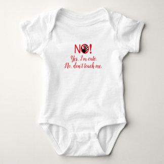 """Don't Touch Me"" Baby Bodyshirt Baby Bodysuit"