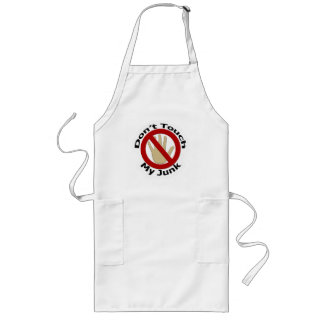 Don't Touch My Junk Apron