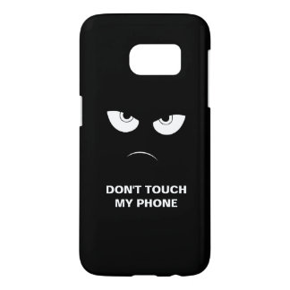 Don't touch - Protective Galaxy 7 Case