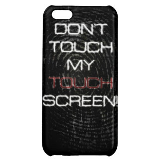 Dont touch screen case for iPhone 5C