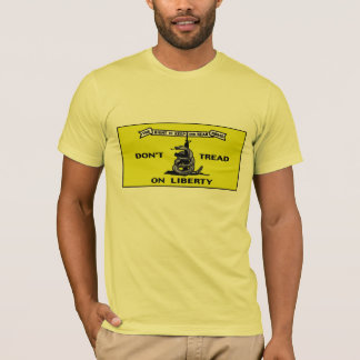 Dont Tread On Liberty Patriotic Protest T-Shirt