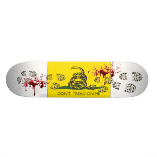 Don't Tread On Me 21.6 Cm Skateboard Deck