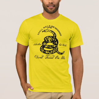 Don't Tread On Me 2nd Amendment T-Shirt