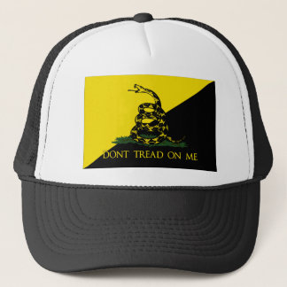 Dont Tread On Me Anarchist Flag Trucker Hat