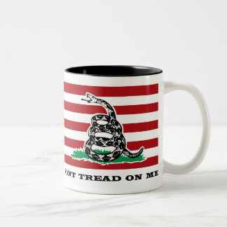 DONT TREAD ON ME COFFEE CUP