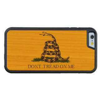Don't Tread on Me Gadsden American Flag Cherry iPhone 6 Bumper