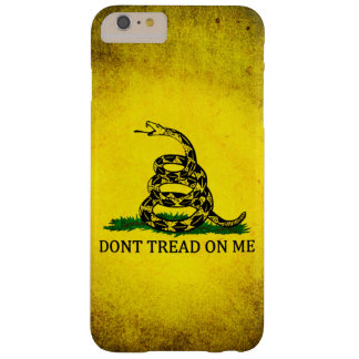 Dont Tread On Me Gadsden Flag - Distressed Barely There iPhone 6 Plus Case