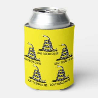 Don't Tread On Me Gadsden Flag Gun Rights Can Cooler