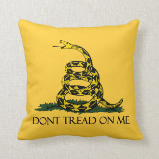 Don't Tread on Me, Gadsden Flag Patriotic History Cushions