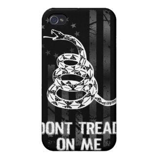 Dont Tread On Me II iPhone 4 Case