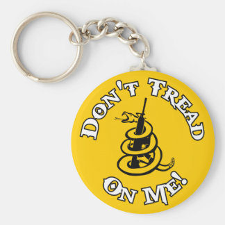 Don't Tread on Me! Key Ring