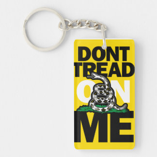 Don't Tread On Me keychain