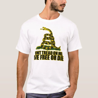 Don't Tread On Me - Live Free Or Die T-Shirt
