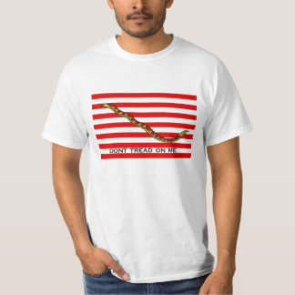 'don't tread on me' navy jack T-Shirt