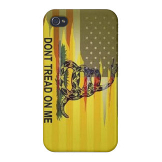 dont tread on me phone case iPhone 4 covers