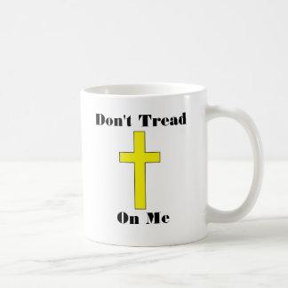 Don't Tread On Me plus Cross Religious Freedom Mug