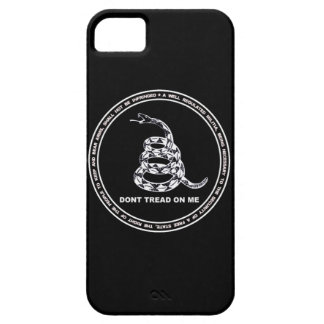 DON'T TREAD ON ME Products iPhone 5 Cover