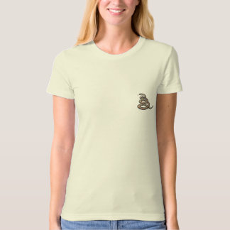 dont tread on me snake image T-Shirt