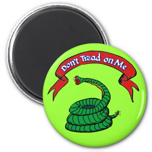 Don't Tread on Me T-shirts Refrigerator Magnet