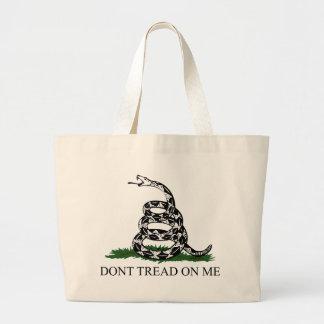 Don't Tread on Me Jumbo Tote Bag