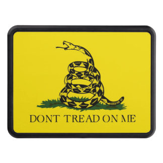 Don't Tread On Me Trailer Hitch Cover