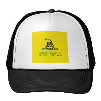 don't tread on my health care obama trucker hats