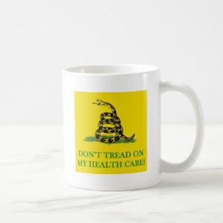 don't tread on my health care obama mug