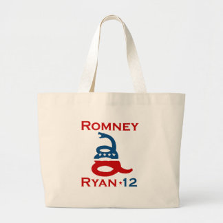 DON'T TREAD ON ROMNEY RYAN.png Tote Bags