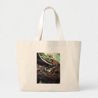 Don't Trip Mushroom Large Tote Bag