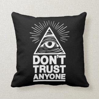 Don't Trust Anyone Cushion