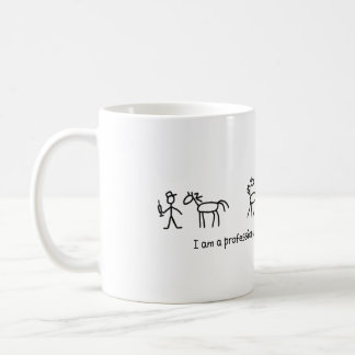 Don't Try This at Home (Veterinarian) Professional Basic White Mug
