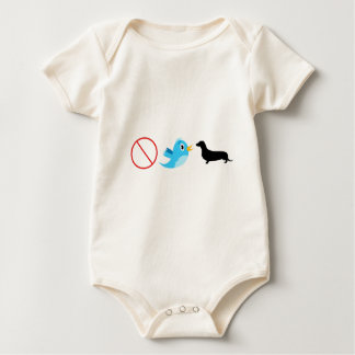 Dont Tweet Your Wiener Baby Bodysuit