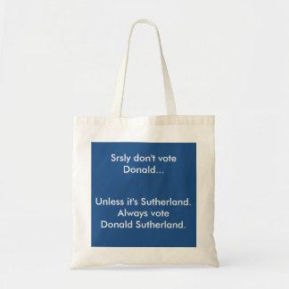 Don't Vote Donald Bag