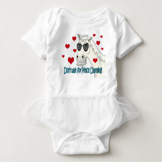 Don't wait for Prince Charming Baby Bodysuit