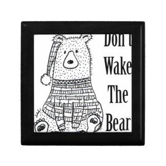 Don't Wake The Bear Gift Box
