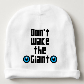 Don't wake the Giant Baby Beanie